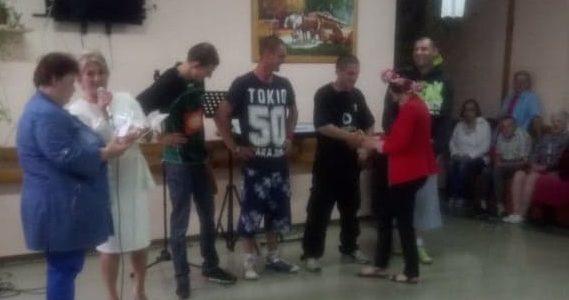 Festyn rodzinny w Domu Pomocy Społecznej w Jedlance