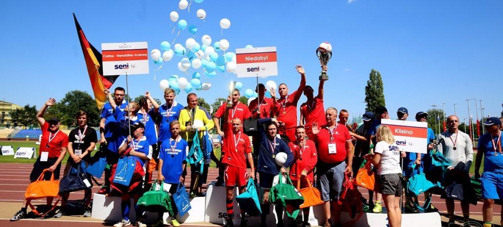 XVIII Finał Międzynarodowej Ligi Piłki Nożnej Osób Niepełnosprawnych SENI Cup 2018