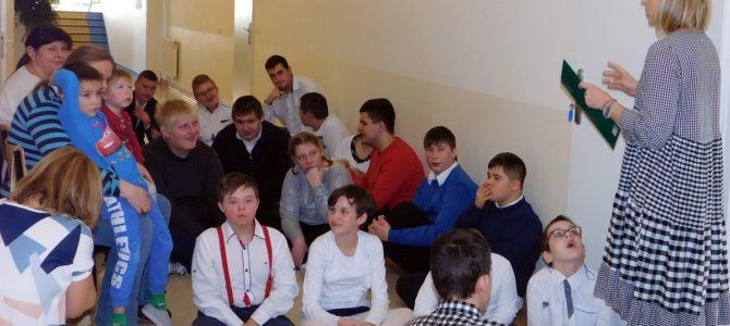 Spotkanie wigilijne w Szkołach Specjalnych w Adamowie